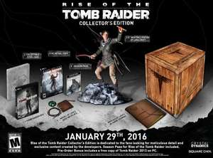 [Précommande] Rise of The Tomb Raider sur PC - Edition collector