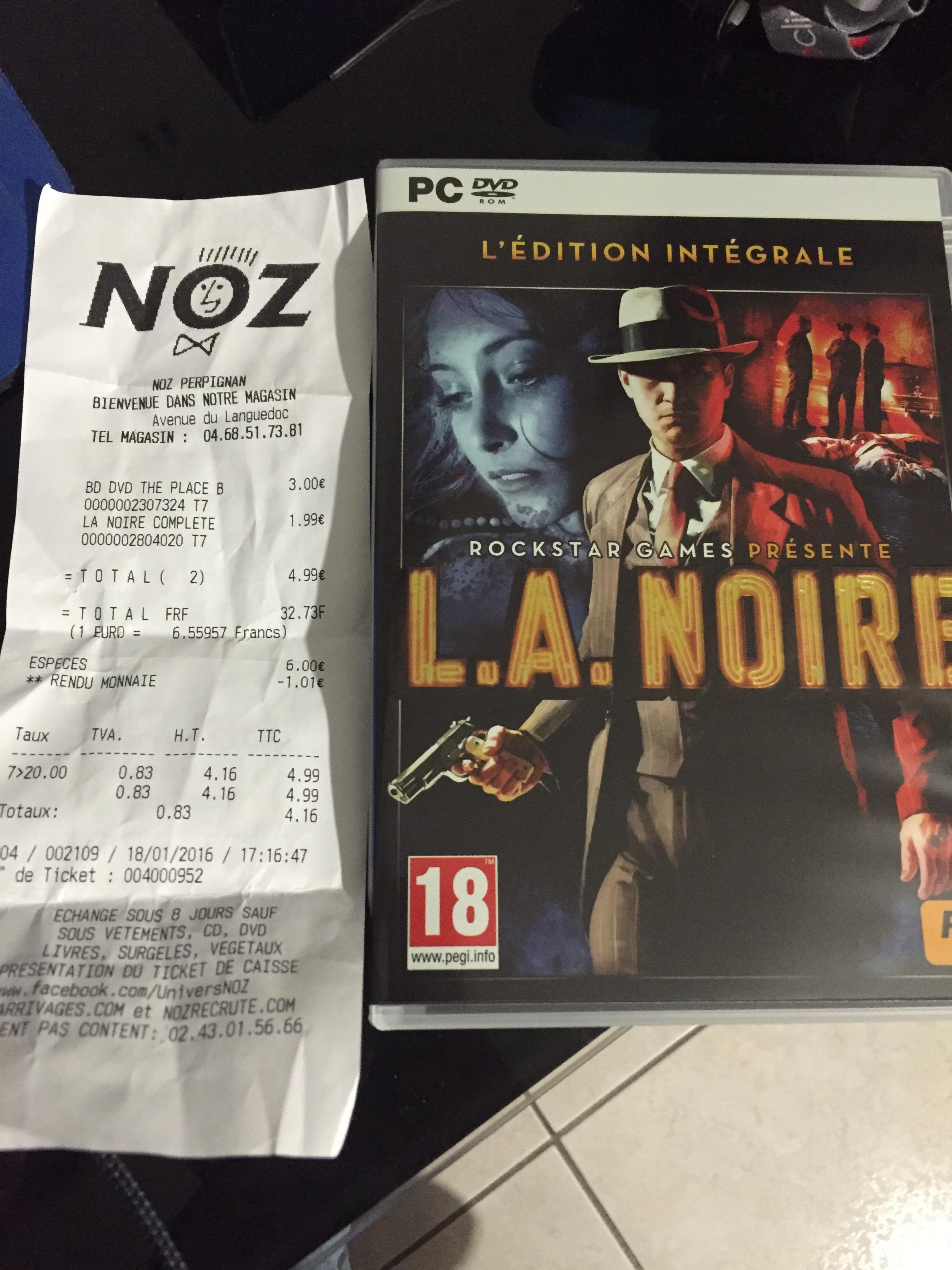 L.A. Noire - Edition intégrale (PC)