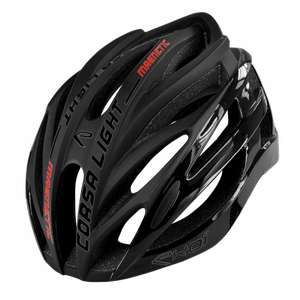 Casque Vélo Course Ekoi Corsa Light Noir Mat Shiny