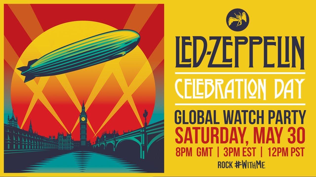 Film / Concert: Led Zeppelin - Celebration Day visionnable gratuitement (via YouTube)