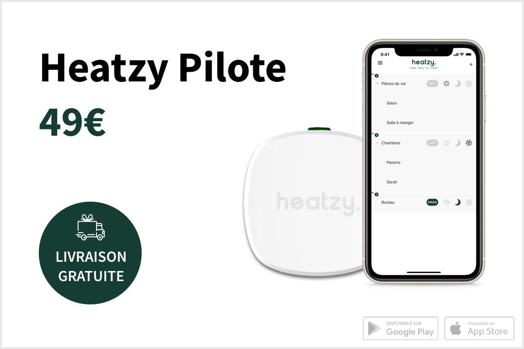 25% de réduction sur les programmateurs connectés Heatzy Pilote et Heatzy Flat (heatzy.com)