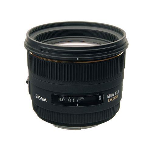 Objectif Sigma  50mm F1.4 EX DG HSM - Monture Canon