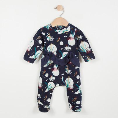 Pyjama Jersey Catimini à motifs poétiques - 3 à 9 mois (Destockcenter.com)