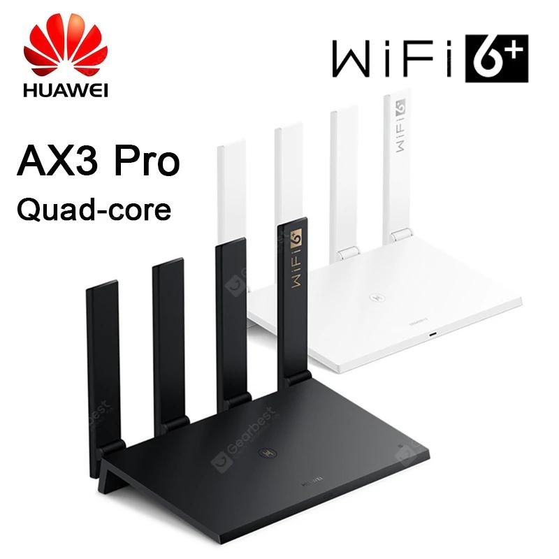 Routeur Huawei AX3 Pro WiFi 6 Dual Band (Plug EU) - Coloris au choix (50,59€ avec 2020FD7)