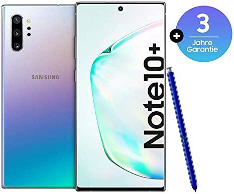 """Smartphone 6.8"""" Samsung Galaxy Note 10+ Plus - Double SIM, 256 Go (Version Allemande)"""