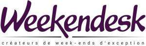Bon d'achat d'une valeur de 140€ pour 90€ ou de 300€ pour 199€ valable 12 Mois sur le site Weekendesk.fr et Weekendesk.be