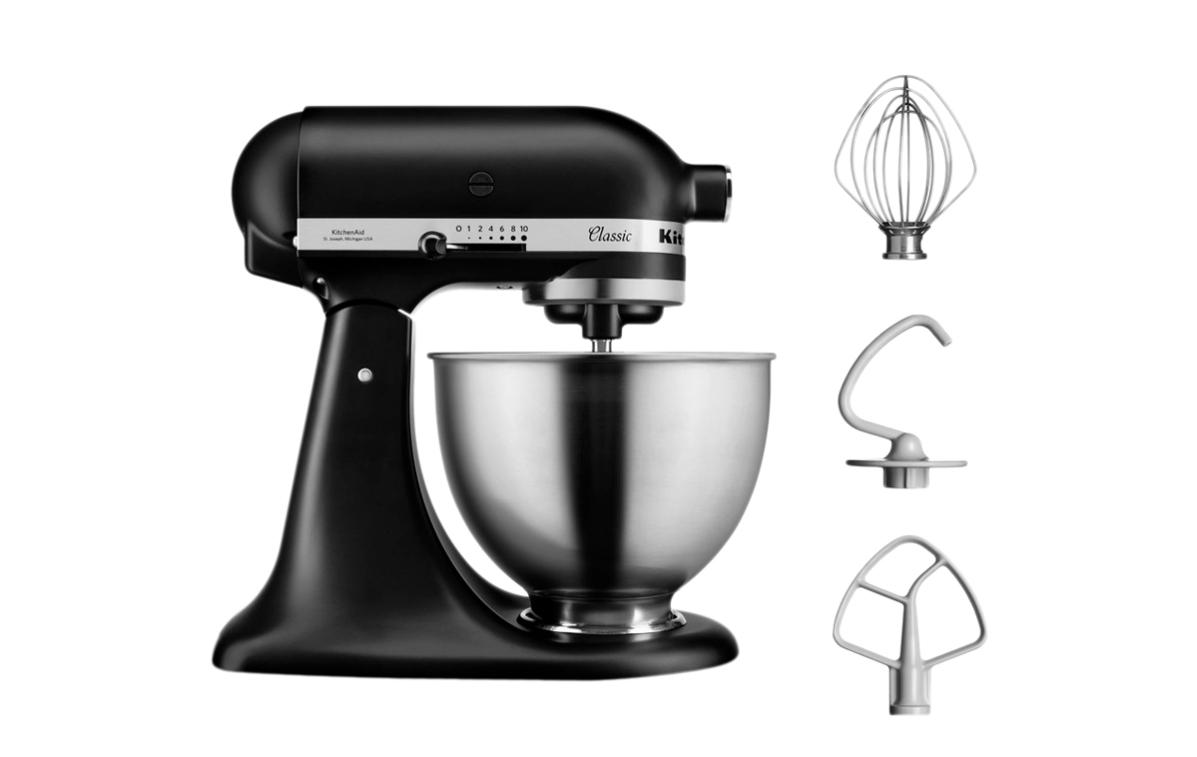 Robot pâtissier multifonctions Kitchenaid Classic - 4,3L, 275W