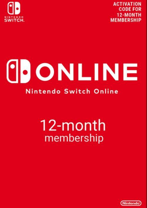 Abonnement Nintendo Switch Online - 12 mois (Dématérialisé)