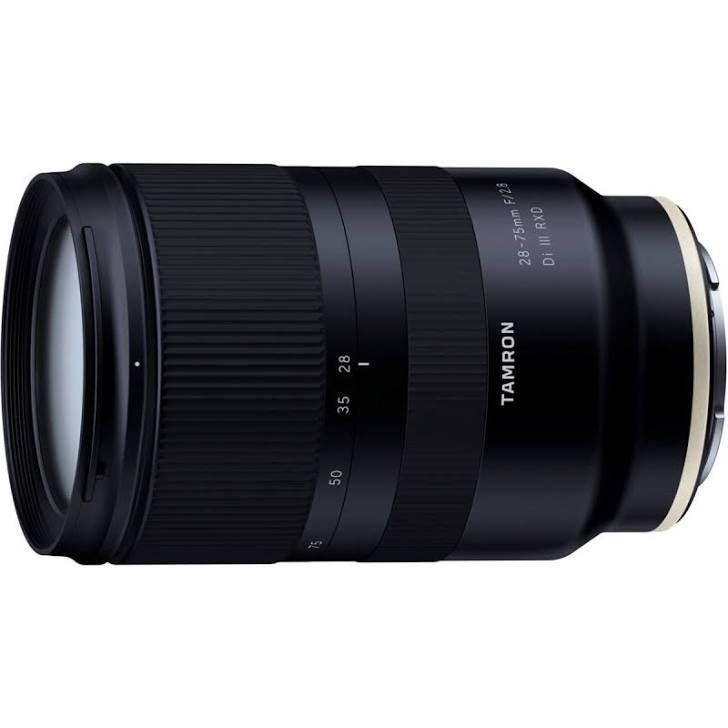 Objectif Tamron 28-75mm f/2.8 Di III RXD - Monture Sony FE (Compatible plein format et APS-C)