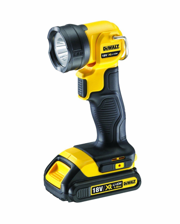 Lampe torche LED Sans fil DeWalt DCL040 - 18V, 3Ah