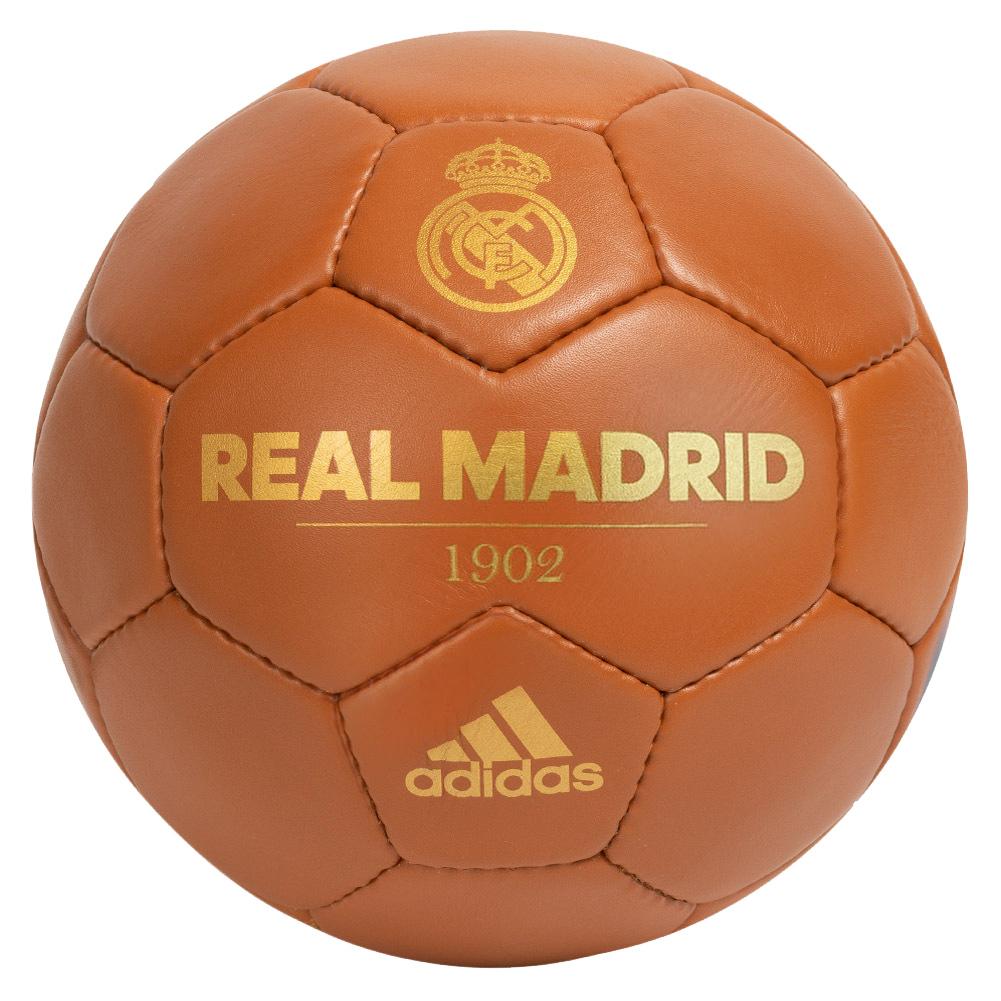 Ballon de football rétro Adidas - Real Madrid - Taille 5