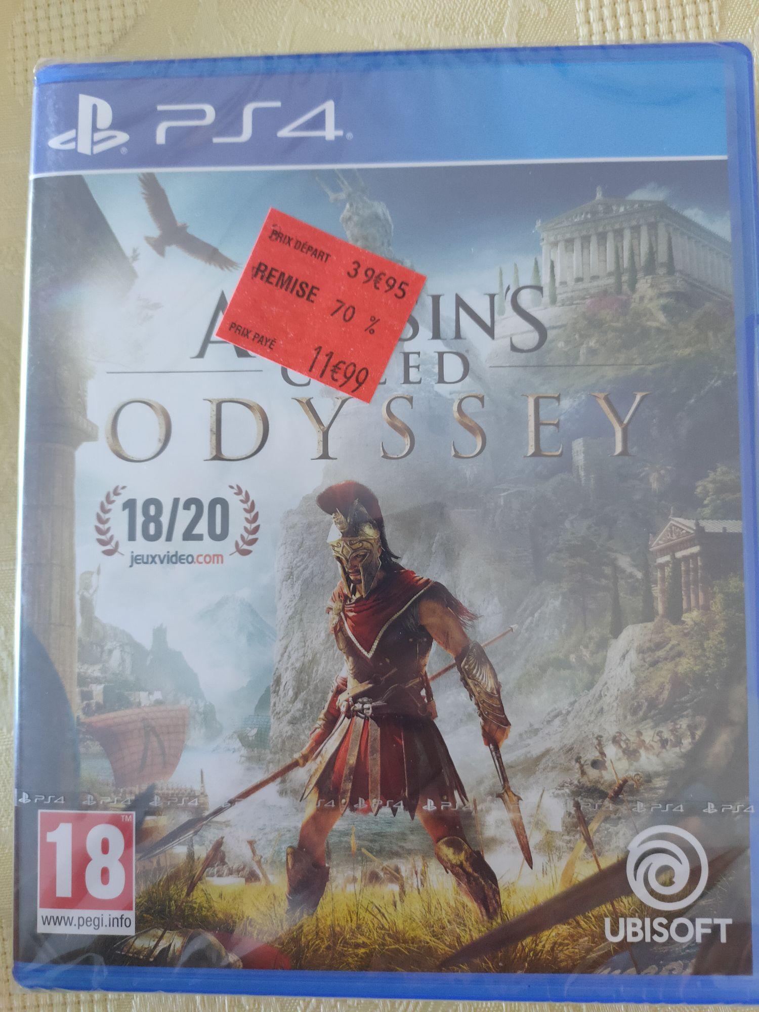 Assassin's Creed Odyssey sur PS4 - Saran (45)