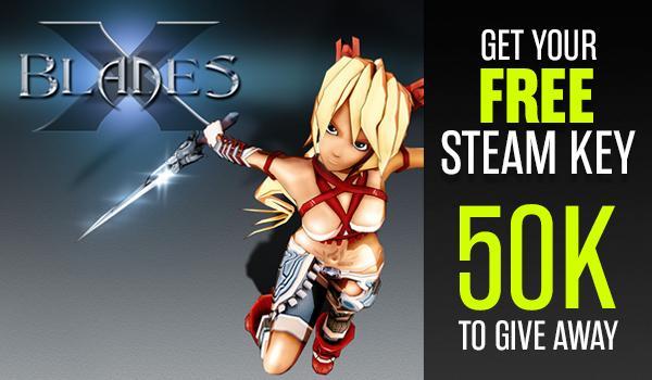 X-Blades sur PC (Dématérialisé - Steam) gratuit