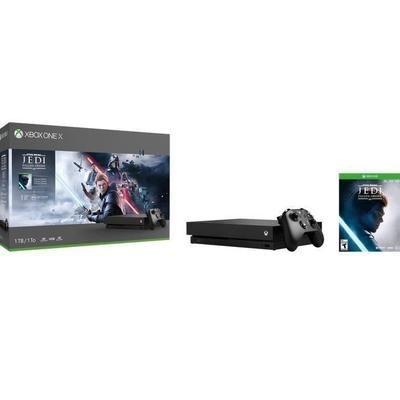 Console Microsoft Xbox One X 1To + Star Wars Jedi : Fallen Order