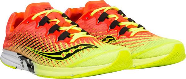 Chaussures de Running Saucony Type A9 - Rose/Jaune