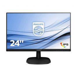 "Ecran PC 23.8"" Philips 243V7 - IPS, Full HD, 4ms,75hz Noir"