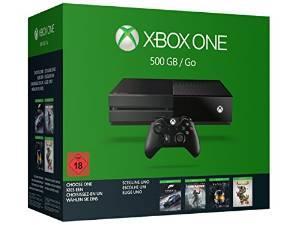 Précommande : Console Microsoft Xbox One 500 Go + 1 Jeu au choix parmi une sélection