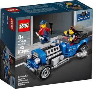 Jouet Lego Hot Rod (40409) offert à partir de 85€ d'achat (+1 autre Polybag)