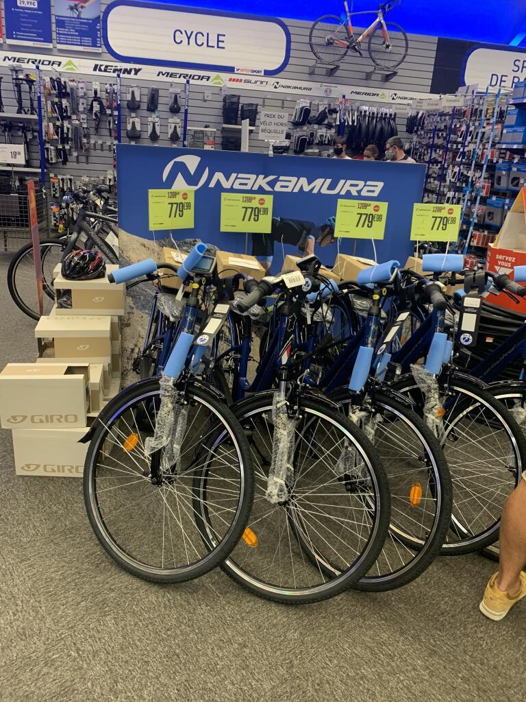 Vélo VAE électrique Nakamura E-Powerfit Ltd - taille M ou L