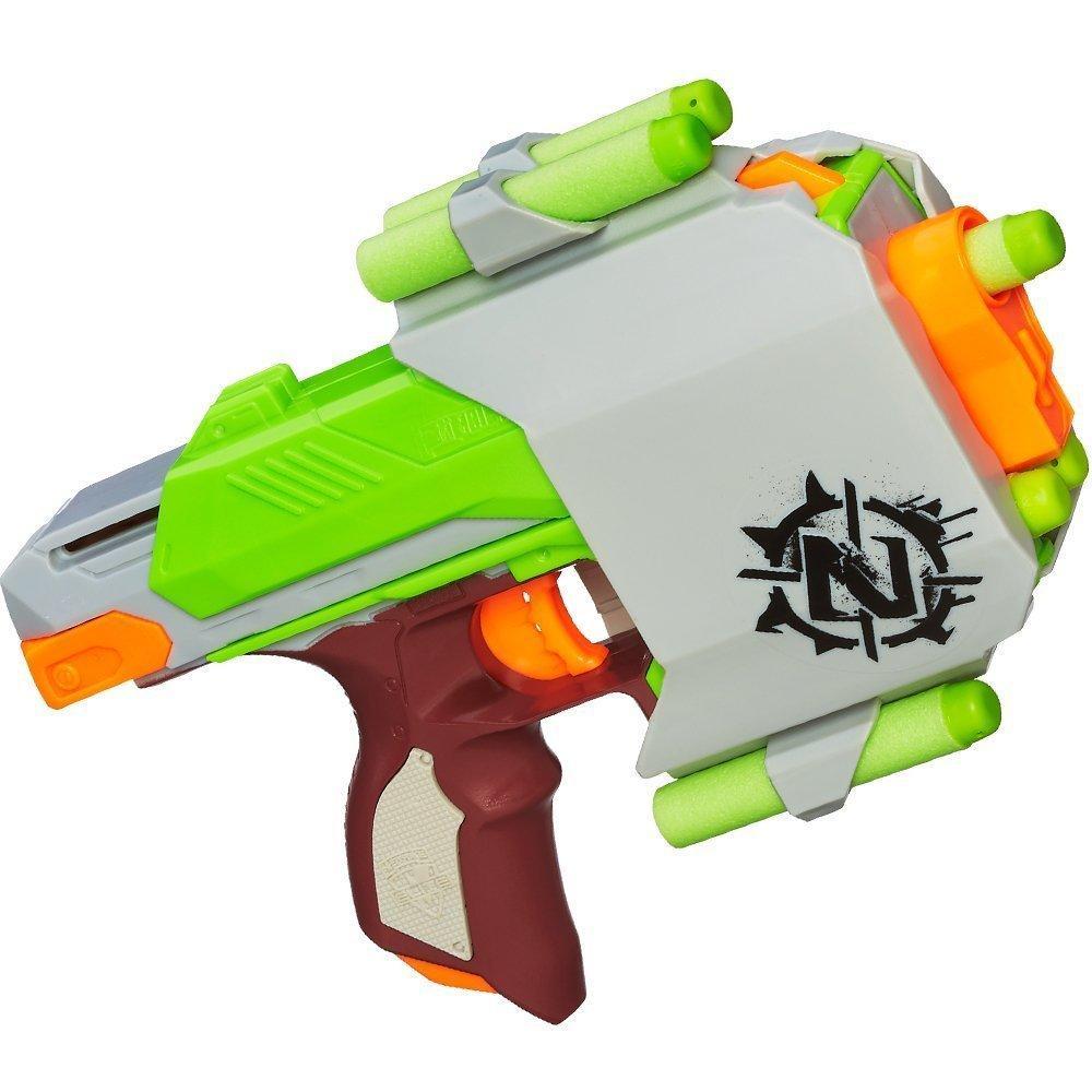 Pistolet Nerf Zombie Strike - Sidestrike (via ODR de 4.5€)