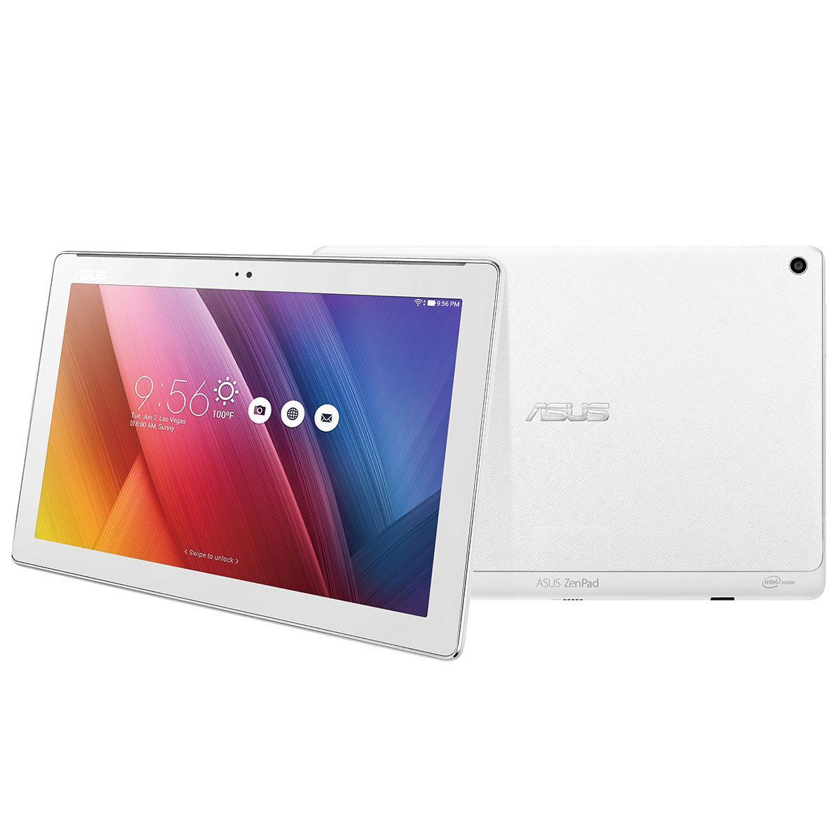 """Tablette 10"""" Asus ZenPad Z300C - 64Go, Blanc"""