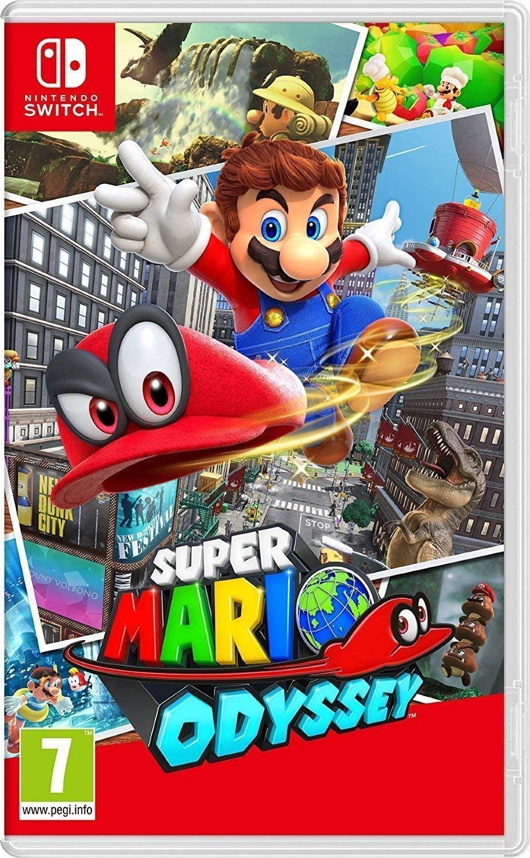 Jeu Super Mario Odyssey sur Nintendo Switch