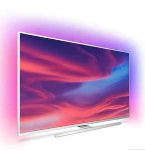 """TV LED 58"""" Philips 58PUS7304 - 4K UHD, HDR 10+, Ambilight 3 côtés, Dolby Vision & Atmos, Android TV"""