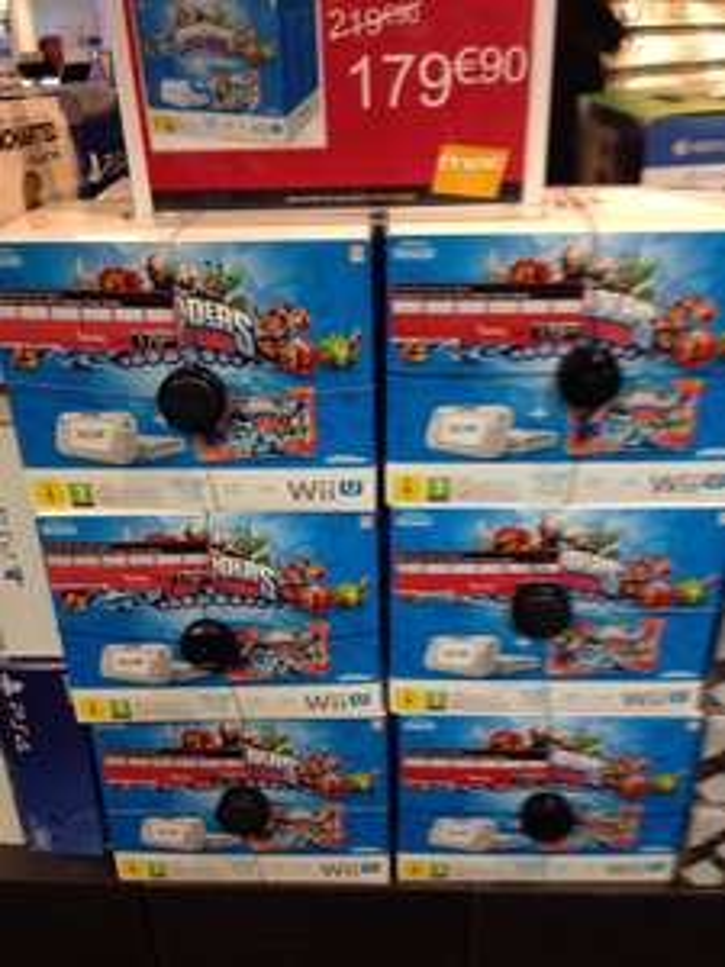 Console Nintendo Wii U 8 Go pack Skylander