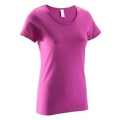 T-shirt femme Rose 100% coton