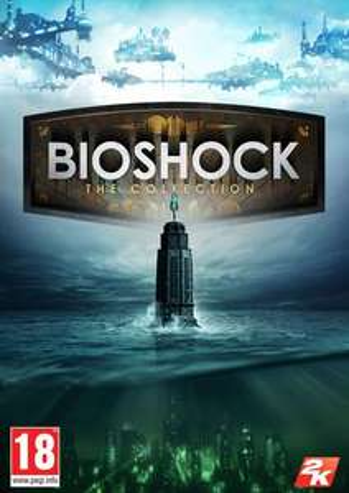 Jeu Bioshock The Collection : Bioshock 1 Remastered + Bioshock 2 Remastered + Bioshock Infinite Gold sur PC (Dématérialisé - Steam)