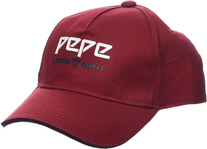 Casquette de baseball femme Pepe Jeans Jana Cap PL040286 - Rouge