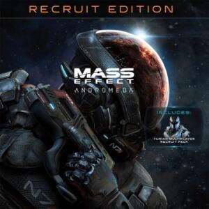 Mass Effect: Andromeda - Édition Recrue standard sur Xbox One (Dématérialisé)