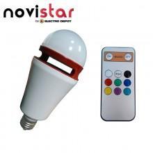 Ampoule LED + enceinte Novistar