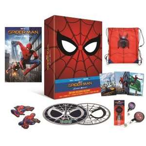 Coffret Blu-Ray Édition collector Spider-Man Homecoming