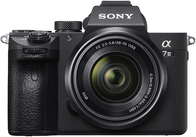 Appareil photo hybride à objectif interchangeable Sony Alpha 7 III (24.2 Mpix) + objectif FE 28-70 mm (via ODR de 200€)