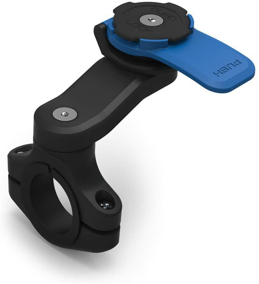 Système de support smartphone pour moto Quad Lock + Coque au choix (teamaxe.com)