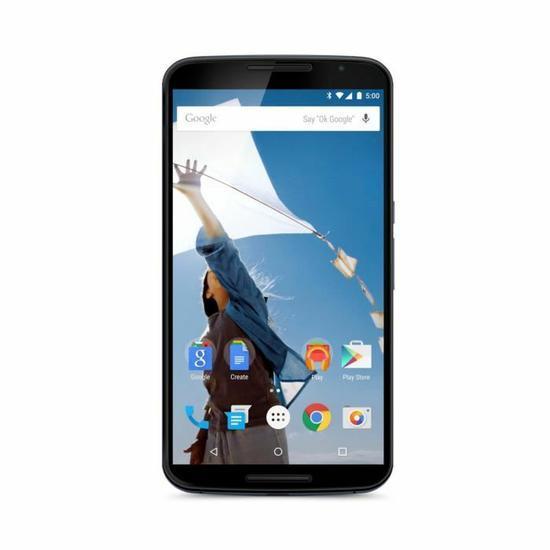 """Smartphone 6"""" Motorola Nexus 6 - 64 Go, Bleu nuit"""