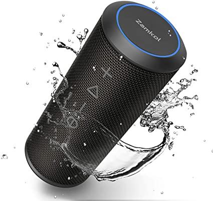 Enceinte Bluetooth Waterproof Zamkol (Vendeur Tiers)