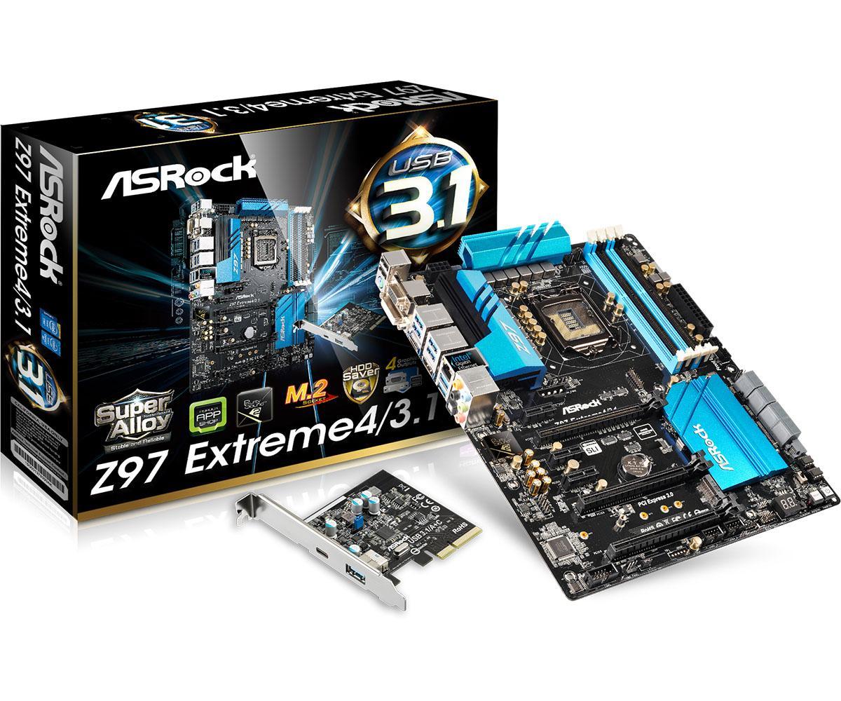 Carte mère* ASRock Z97 Extreme4/3.1