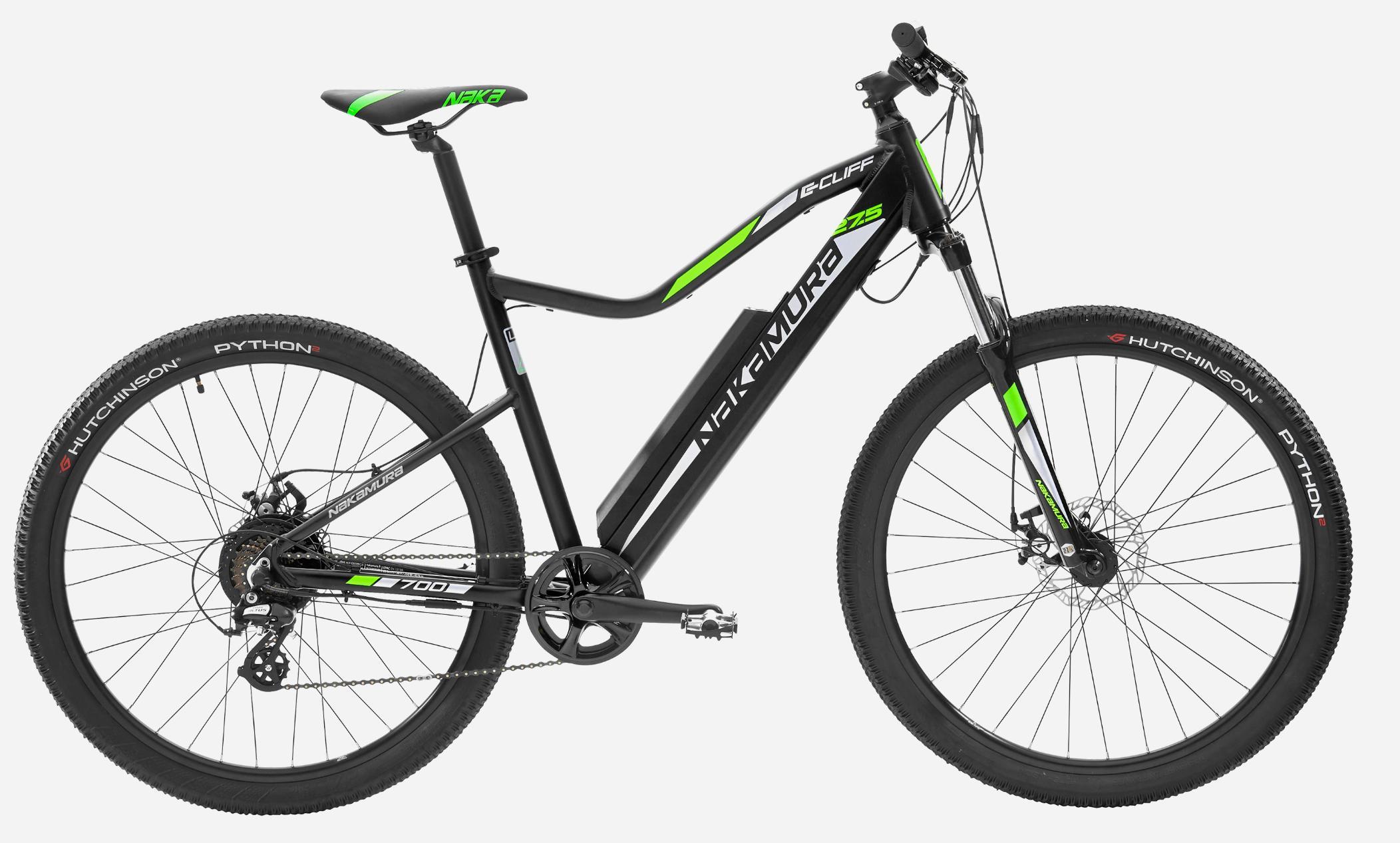 20% offerts en carte cadeau sur les Vélo électriques Nakamura - Ex : Vélo VTT électrique Nakamura E-Cliff 700 (+199.99€ en carte cadeau)