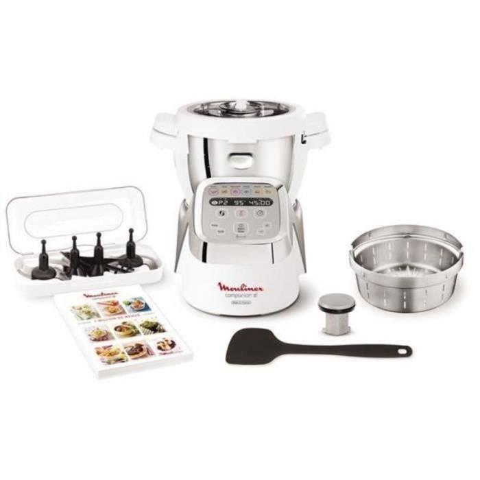 Robot de cuisine multifonctions Moulinex Companion XL HF806E13