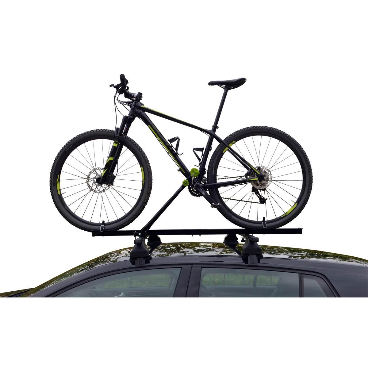 Porte-vélo barre de toit Feu Vert