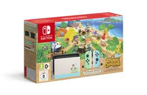 Pack console Nintendo Switch Édition Animal Crossing + Animal crossing New Horizons