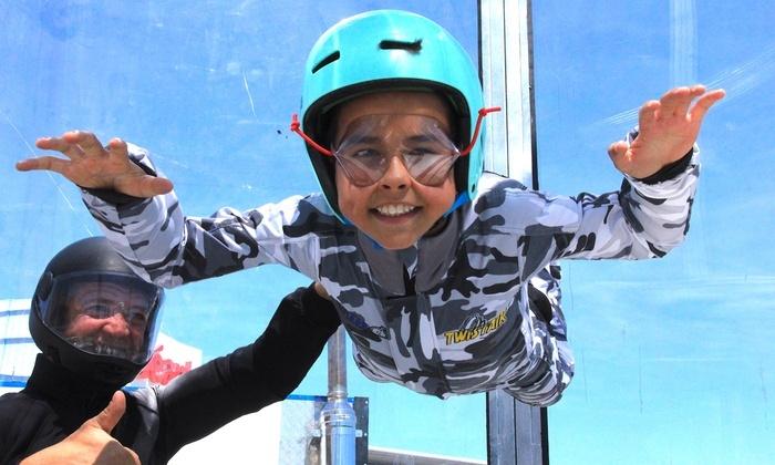 Session de 3 vols en chute libre en soufflerie Indoor pour adulte de plus de 16 ans avec vidéo - Twist'Air (Pôle Ludique Odysseum 34)