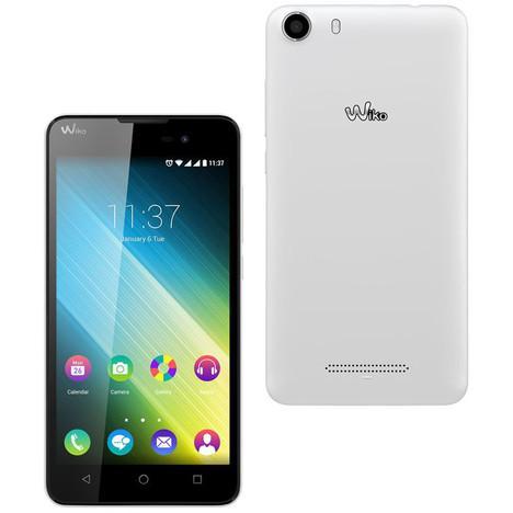 """Smartphone 5"""" Wiko Lenny 2 - Blanc (avec 10€ sur la carte)"""