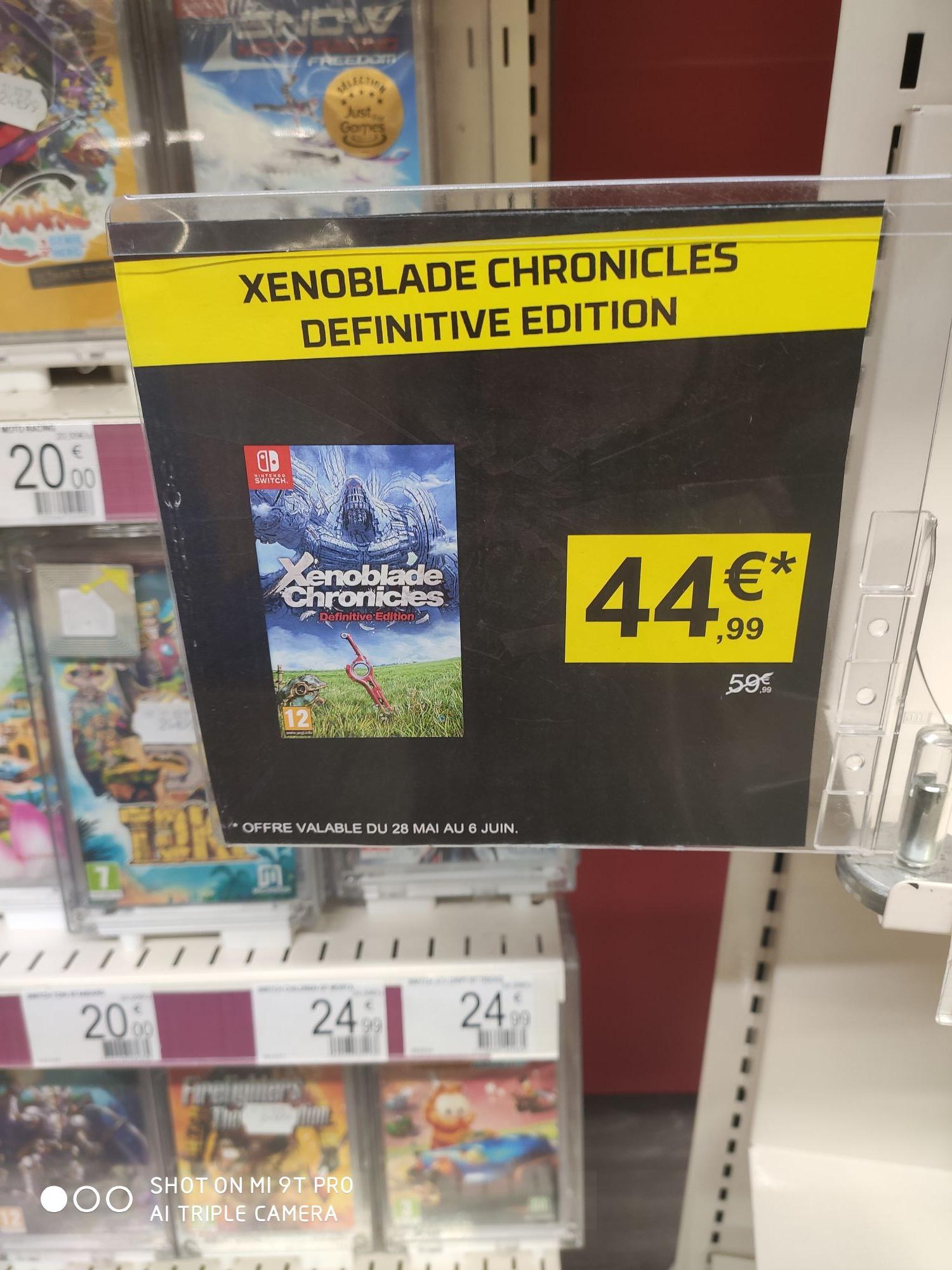 Xenoblade Chronicles : Definitive Edition sur Nintendo Switch - La Défense