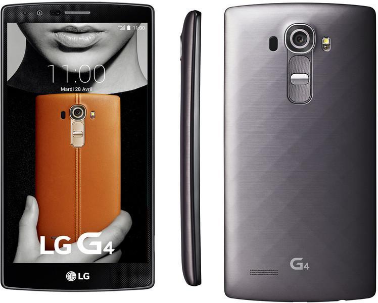 """Smartphone 5.5"""" LG G4 - 32 Go 4G Titane"""