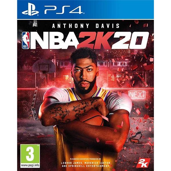 Jeu NBA 2K20 sur PS4