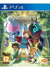 Ni No Kuni: Wrath of the White Witch Remastered sur PS4