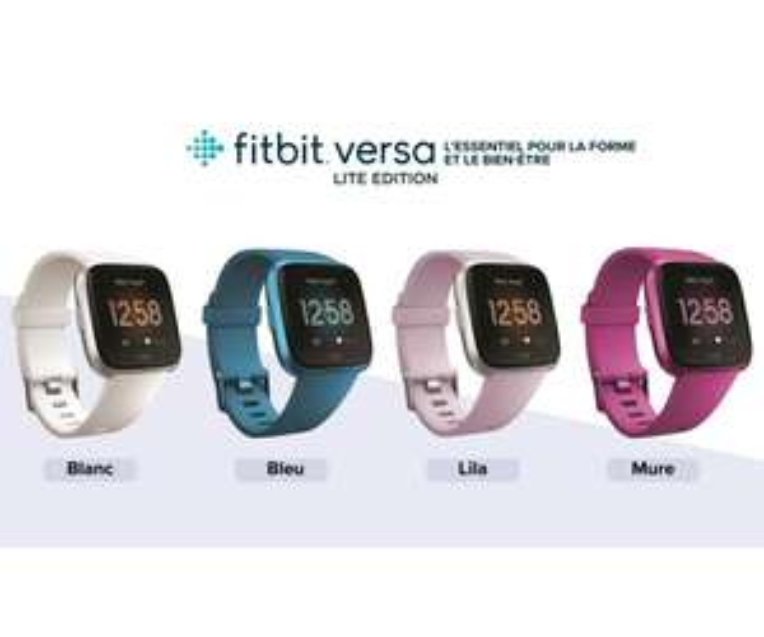Montre Connectée Fitbit Versa Lite - Plusieurs Coloris
